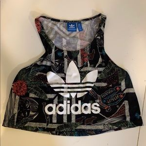 Adidas tank top size small